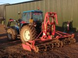 All set for power harrowing