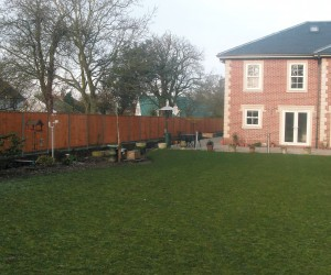 A new fence from JD Services Norfolk